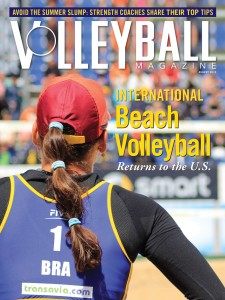volleyball mag cover photo