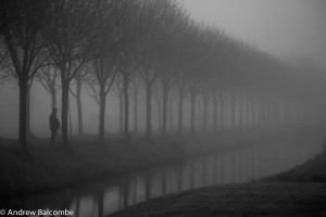 North Holland autumn mist 2013