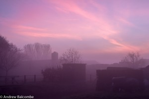North Holland autumn sunrise 2013
